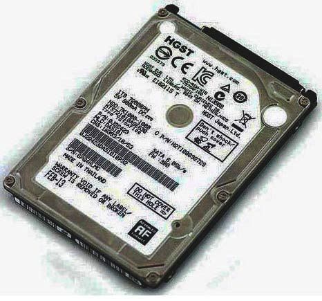 фото на Жесткий диск HDD 2.5`, 1TB Hitachi SATA-3 7200 Mobile 8Mb HTS721010A9 E630 (0J22423)