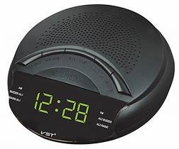 Фото товару Годинник електронний мережевий VST 903-2 Радіо FM / AM