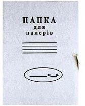 Фото товара Папка картонная на завязках, А4, 0.30 мм
