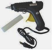 Фото товара Клеевой пистолет 20W со стержнями 2 шт 7,2*150мм Сталь, 80120