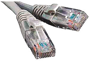 Фото товару Кабель Патч-корд 20 m, ATcom UTP, RJ45, Cat.5e, сірий