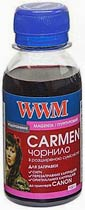 Фото товару Чорнило WWM CARMEN (CU/M) Magenta, 100г, універсальне для принтерів Canon