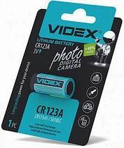 Фото товара Батарейка CR123A Videx, 3V