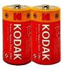 Фото товара Батарейка R14 Kodak 1.5V (уп.10/2/1)