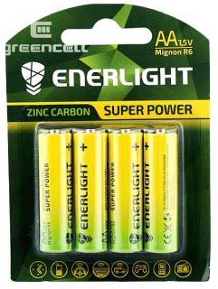 Фото товару Батарейки AA R6 Enerlight, 1.5V, (уп.40/4/1)