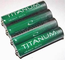 Фото товару Батарейка AAA R03 Titanum, 1.5V