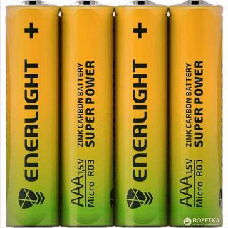 Фото товару Батарейки AAA R03 Enerlight, 1.5V