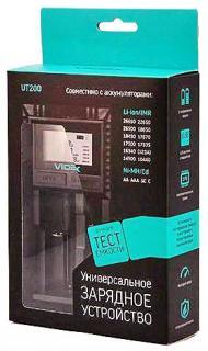 Фото товару Зарядний пристрій для акумулятора Videx 200