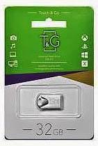 Фото товару Флеш пам`ять USB T&G 106 Metal сіра 32GB