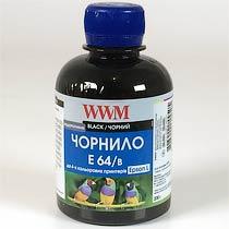 Фото товару Чорнило WWM для Epson E64/B Black 200г