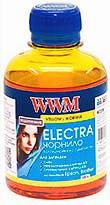 Фото товару Чорнило WWM ELECTRA Yellow 200 г для принтерів EPSON и Brother