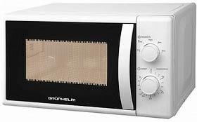 Фото товару Мікрохвильова піч GRUNHELM 20MX720-W, біла, 800W, 20л, механічна