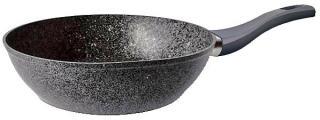 Фото товару Сковорідка глибока GUSTO покриття GRANITE, 260*70мм