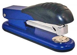 Фото товара Степлер метал №24/6, макс.30 листов, Scholz 85см, синий