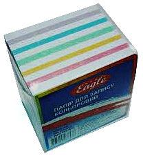 Фото товара Блок бумаги для записей, клееный, 85*85 mm, 400 листов, цветной
