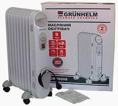 Фото товару Масляний обігрівач GRUNHELM GR-GR-0920S/ 2,0 кВт