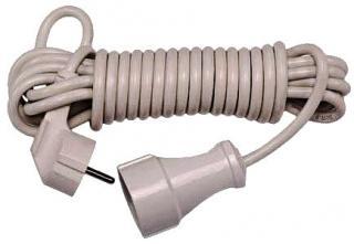 Фото товара Сетевой удлинитель Grunhelm SNG20M 220 вольт одноместный на 1 розетку, длина кабеля 20м