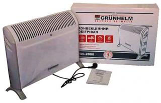 Фото товару Конвектор GRUNHELM GC-2000/2,0 кВт