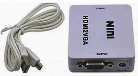 Фото товару Адаптер VGA Female на HDMI Male, живлення USB