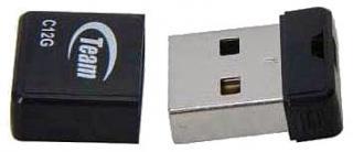 Фото товару Флеш пам`ять USB Team Group C12G 16GB USB 2.0 чорна