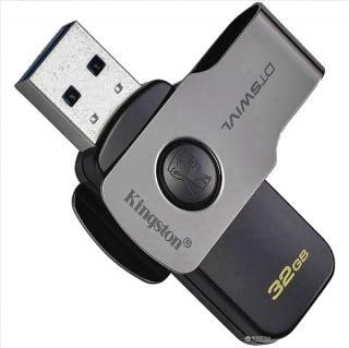 Фото товару Флеш пам`ять USB 3.0 32Gb Kingston DataTraveler Swivi