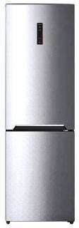 Фото товару Холодильник GRUNHELM GRW-185HLX2, 185 см, морозилка знизу
