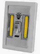 Фото товара Подсветка универсальная-2, в виде выключателя, магнит, липучка, 3xAAA