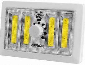 Фото товару Підсвітка універсальна-3, в виді вимикача, магніт, липучка, 3xAAA