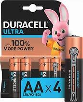 Фото товара Батарейка AA LR6 Duracell ULLTRA 1.5V, (уп.12/2/1)