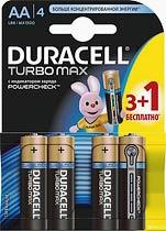 Фото товара Батарейка AA LR6 Duracell TURBO MAX 1.5V, (уп.12/2/1)