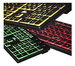 Фото товару Клавіатура мультимедійна USB Moonfox FLK18210