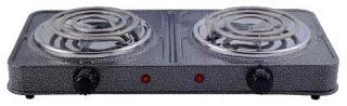 Фото товару Плита електрична настільна Grunhelm GHP-5813 2,0кВт, одинарна, вузький тен