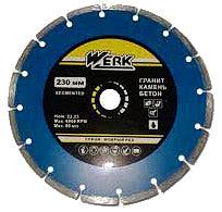 Фото товару Алмазний диск Segment 1A1RSS/c3-W 180 х 7 х 22,23 WE