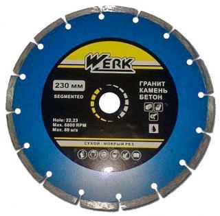 Фото товару Алмазный диск Segment 230*8*22,23 WE