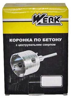 Фото товара Коронка по бетону Werk WE104065 SDS-plus 65 мм