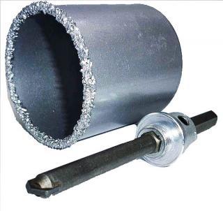 Фото товара Корончатое сверло з вольфрамовым напылением 67 мм