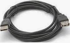 Фото товару Кабель Cablexpert USB 2.0 AM - AF 1.8м з феритовим фільтром