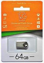 Фото товару Флеш пам`ять USB 2.0 T&G 113 Metal сіра 64Gb