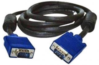 Фото товару Кабель Atcom VGA 2 ферити довжина 1.5м