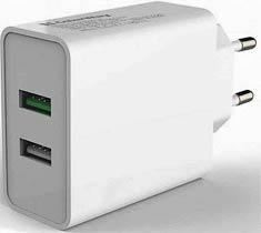 Фото товару Зарядний пристрій iEnergy HC-27, 2xUSB, 2,4A + Cable Lighting