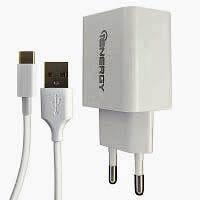 Фото товару Зарядний пристрій iEnergy HC-17, 1xUSB, 2A + Cable MicroUSB