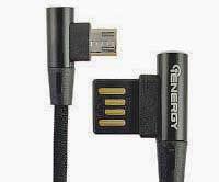 Фото товару Кабель USB Cable iENERGY CA-17, GAME PLAY MicroUSB 1m Black