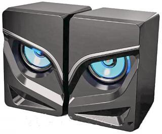 Фото товару Колонки USB Havit HV-SK720, чорні з Led підсвіткою