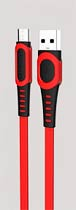Фото товару Кабель USB e Konfulon DC-01C Micro, 2m, 2A, Red