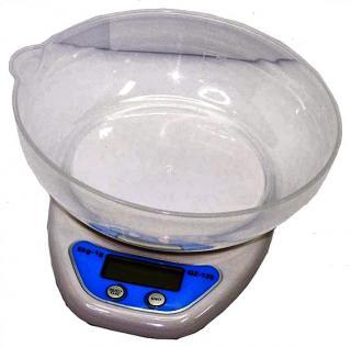 Фото товару Ваги кухонні електронні (0-5кг) QZ-129, з чашею,