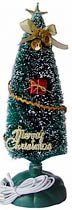 Фото товару Настільна USB ялинка яка світиться Ewell Merry Christmas висота 26 см