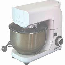 Фото товару Кухонна машина Grunhelm GKM0018, 1800 Вт, 6 швидкостей, нержавіюча сталь, чаша на 5 літрів