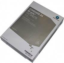 Фото товару Папір офісний Konica Minolta Standart А4 80 г/м2 клас С+ 500 аркушів, біла