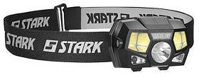 Фото товару Ліхтар налобний Stark L-3-03 Li, 3W LED+ 2pcs COB- RED LED+ sensor, 120лм+120лм, акумулятор 900mAh, 0,27 кг