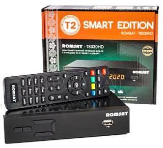 Фото товару DVB-T2 тюнер (ресівер) Romsat T8030HD